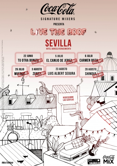 Live The Roof Sevilla