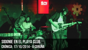 SIDONIE en el Playa Club