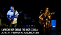 Carmen Boza en Live The Roof Sevilla