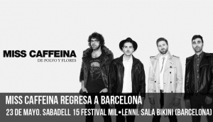 Miss Caffeina regresa a Barcelona