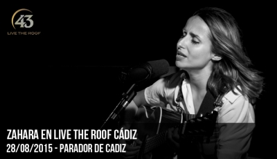 Zahara en Live The Roof Cádiz