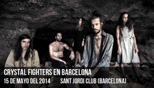 Crystal Fighters en Barcelona