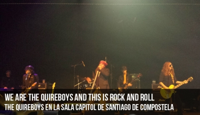 We are The Quireboys and this is Rock And Roll